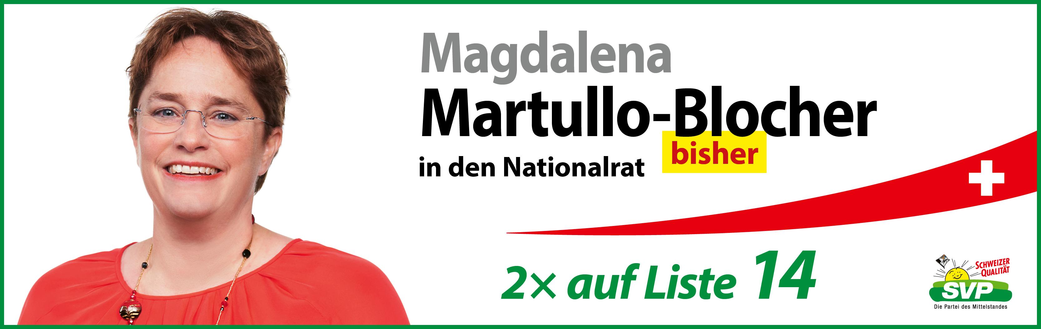 Magdalena Martullo-Blocher in Lenzerheide